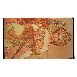 Alphonse Mucha Art Deco iPad Folio Cover