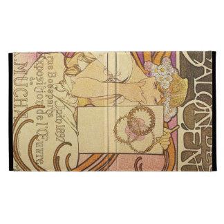 Alphonse Mucha Art Deco iPad Folio Covers