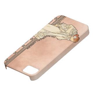 Alphonse Mucha Art Deco iPhone 5 Case