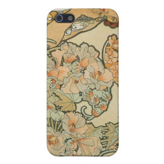 Alphonse Mucha Art Deco Case For iPhone SE/5/5s