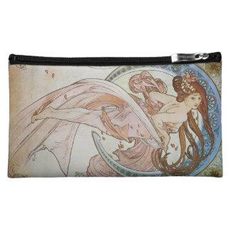 Alphonse Mucha Art Deco Cosmetic Bag