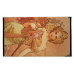 Alphonse Mucha Art Deco iPad Folio Cases