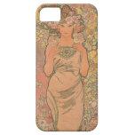Alphonse Mucha Art Deco iPhone 5 Cover