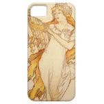 Alphonse Mucha Art Deco iPhone 5 Covers