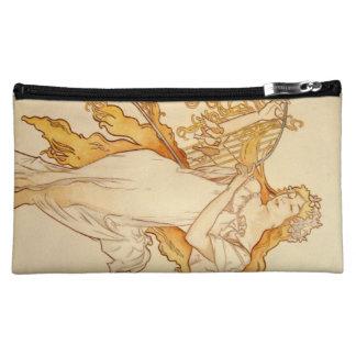 Alphonse Mucha Art Deco Makeup Bag