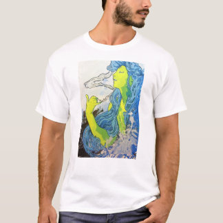 Alphonse Mucha Art Deco T-Shirt