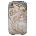 Alphonse Mucha Art Deco Tough iPhone 3 Case