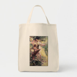 Alphonse Mucha - Art Nouveau -  Spirit of Spring Tote Bag