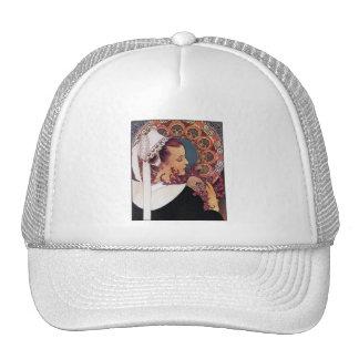 Alphonse Mucha - Art Nouveau Trucker Hat