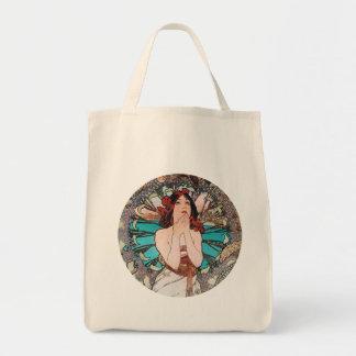 Alphonse Mucha Art Tote Bag