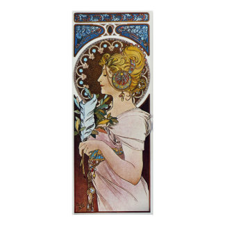 Alphonse Mucha Artwork Poster