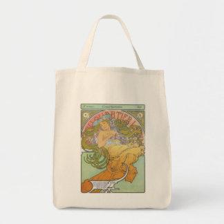Alphonse Mucha - Au Quartier Latin Bag