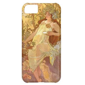 Alphonse Mucha Autumn Case For iPhone 5C
