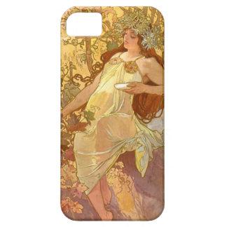 Alphonse Mucha Autumn iPhone SE/5/5s Case