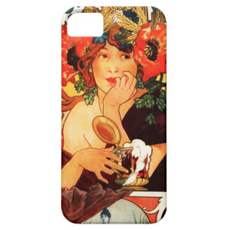 Alphonse Mucha Beer of the Muse iPhone 5 Case