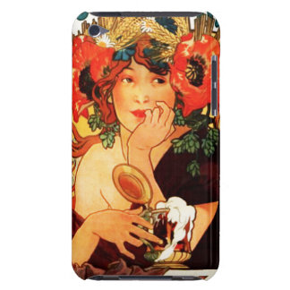 Alphonse Mucha Beer of the Muse iPod Touch Case
