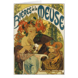 Alphonse Mucha - Bieres de la Muse Cards