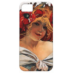 Alphonse Mucha Biscuits Lefevre Utile iPhone Case iPhone 5 Covers