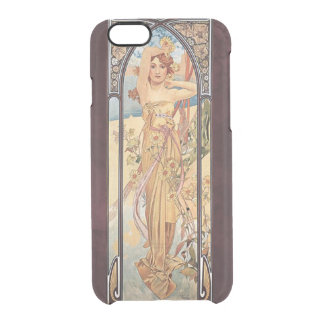 Alphonse Mucha, Brightness of Day Clear iPhone 6/6S Case