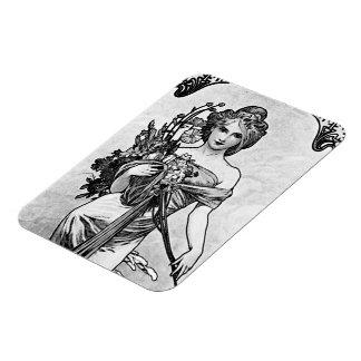 Alphonse Mucha Broken Blossoms Magnet