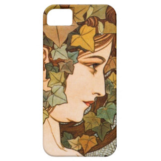 Alphonse Mucha. Brsljan iPhone SE/5/5s Case