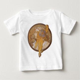 Alphonse Mucha ~ Byzantine Head: The Blonde Baby T-Shirt