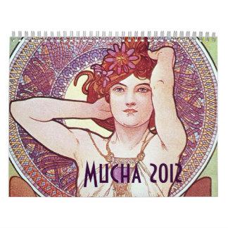 Alphonse Mucha Calendar