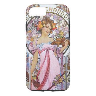 Alphonse Mucha. Champagne advertisement,1899. iPhone 8/7 Case