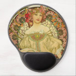 "Alphonse Mucha - Champagne Gel Mouse Pad<br><div class=""desc"">Alphonse Mucha - Champagne</div>"