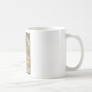 ALPHONSE MUCHA CHANSONS D`AJEULES COFFEE MUG