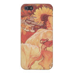 Alphonse Mucha, Chocolat Mexicain 1896 Cases For iPhone 5