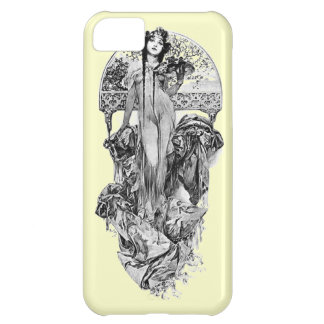 Alphonse Mucha-Choose color Cover For iPhone 5C