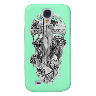 Alphonse Mucha-Choose color Galaxy S4 Cover
