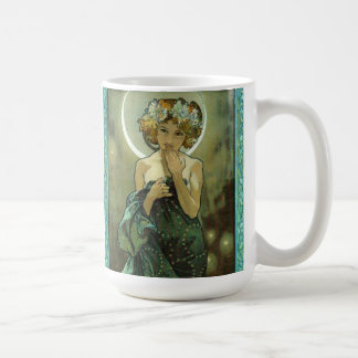 Alphonse Mucha Clair De Lune Mug