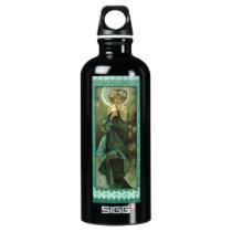 Alphonse Mucha Clair De Lune Water Bottle