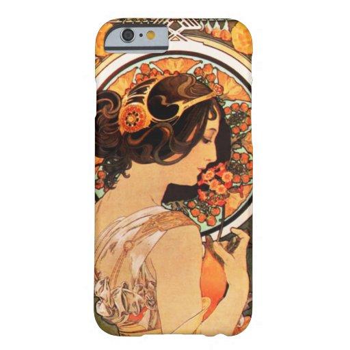 Alphonse Mucha Cow Slip iPhone 6 case