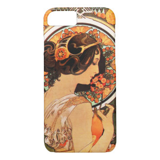 Alphonse Mucha Cow Slip iPhone 7 case