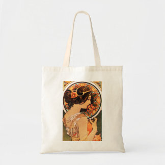 Alphonse Mucha Cow Slip Tote Bag