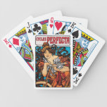Alphonse Mucha - Cycles Perfecta Poker Cards