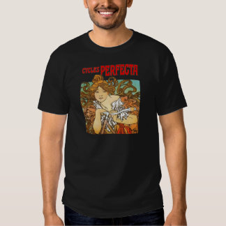 Alphonse Mucha - Cycles Perfecta T-shirt