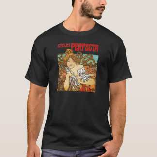 Alphonse Mucha - Cycles Perfecta T-Shirt