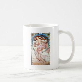 Alphonse Mucha Dance Coffee Mug