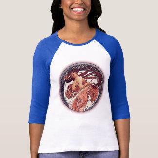 Alphonse Mucha - Dance T-Shirt