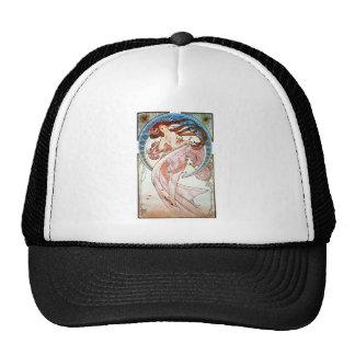 Alphonse Mucha Dance Trucker Hat