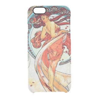 Alphonse Mucha Dance Vintage Art Nouveau Painting Clear iPhone 6/6S Case