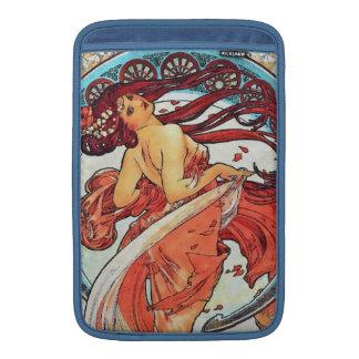 Alphonse Mucha Dance Vintage Art Nouveau Painting MacBook Sleeve