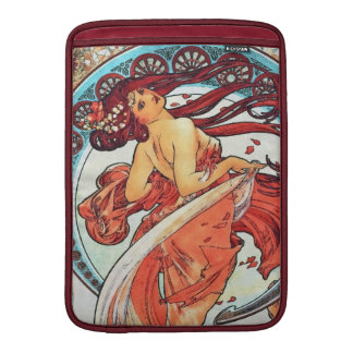 Alphonse Mucha Dance Vintage Art Nouveau Painting Sleeve For MacBook Air