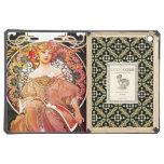Alphonse Mucha Daydream Floral Vintage Art Nouveau Case For iPad Air