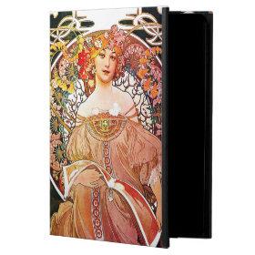 Alphonse Mucha Daydream Floral Vintage Art Nouveau Powis iPad Air 2 Case