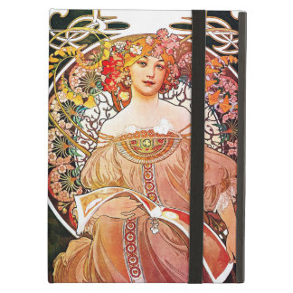 Alphonse Mucha Daydream Floral Vintage Art Nouveau iPad Air Covers